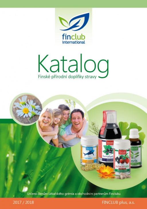 Katalog doplňků stravy 2017/2018
