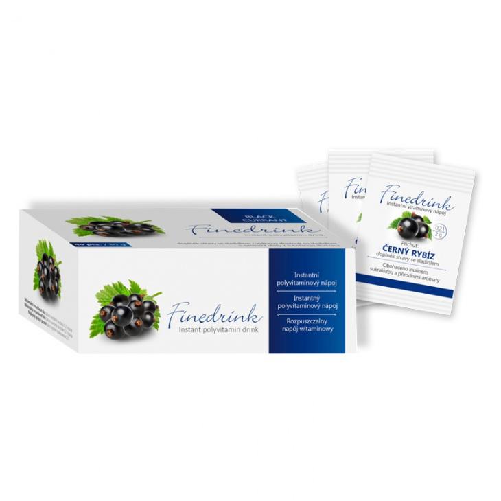 Finedrink - Černý rybíz 0,2 l NEW