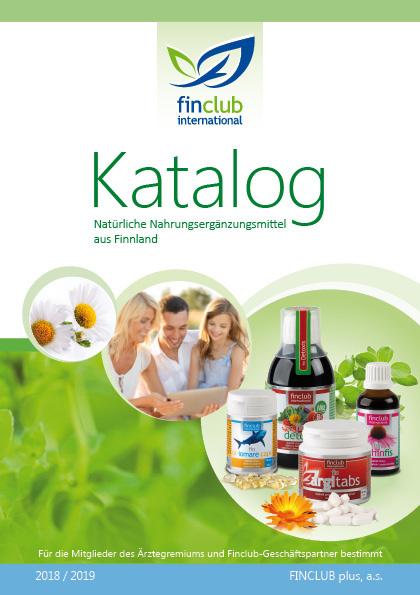 Katalog doplňků stravy - německý