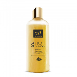 Šampon se zlatem a arganovým olejem