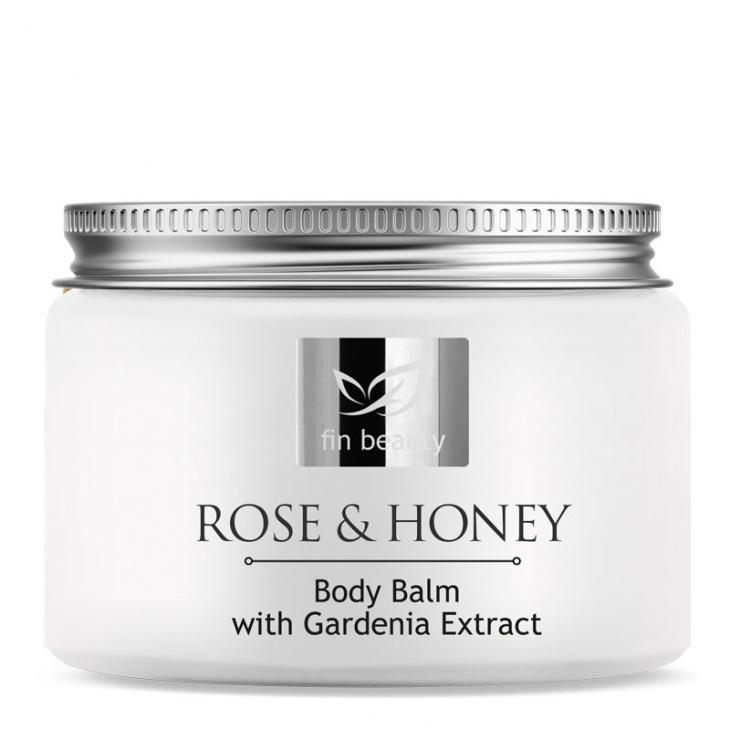 Tělový balzám s extrakty z medu, gardénie, růže
