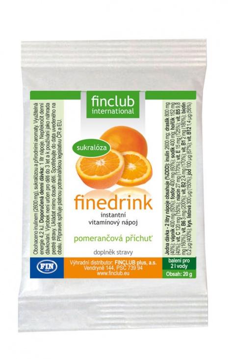 Finedrink - Pomeranč 2 l