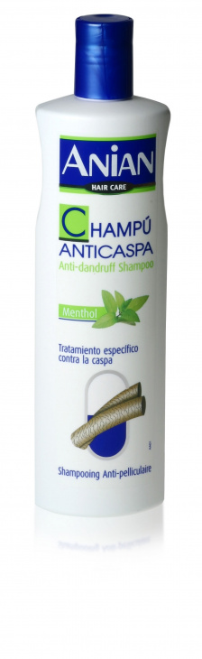Šampón s mentolem ANIAN