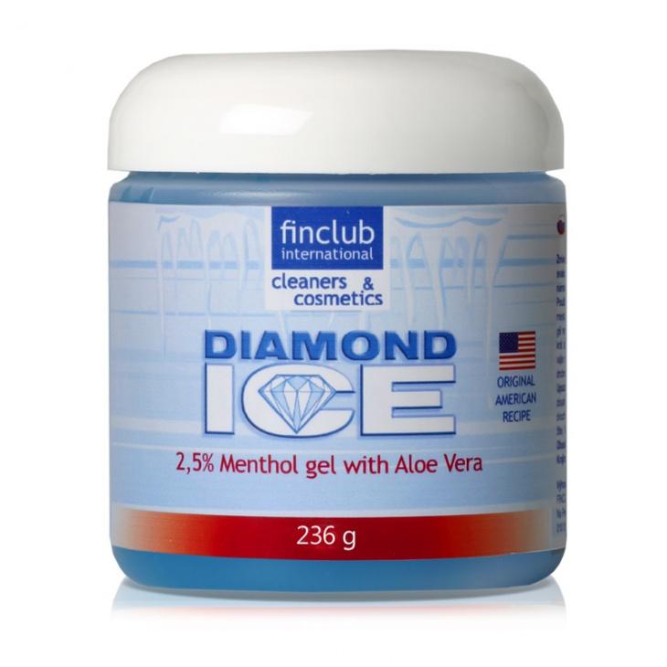 Masážní gel Diamond Ice 2,5%