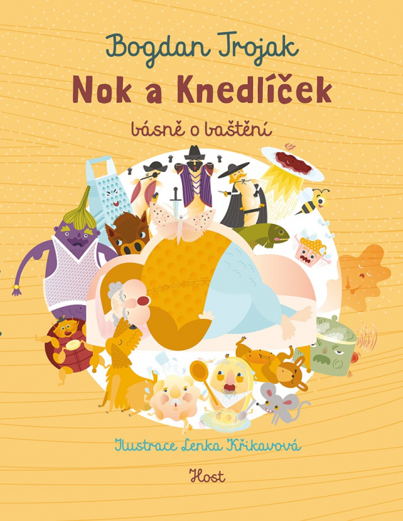 Kniha - Nok a knedlíček