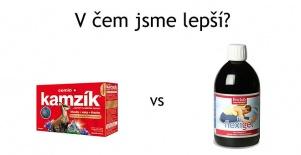 Produkt Kamzík vs náš Flexigel