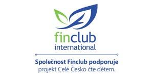 Společnost Finclub podporuje projekt Celé Česko čte dětem.